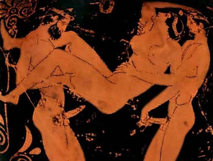 Gli Etruschi e l'aldilà tra azioni brutali, sesso e danze erotiche-2