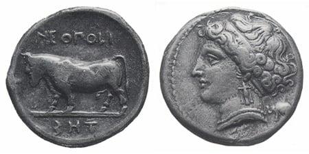 Un'altra ricchezza partenopea le monete di Neapolis, primo modello della monetazione romana-1