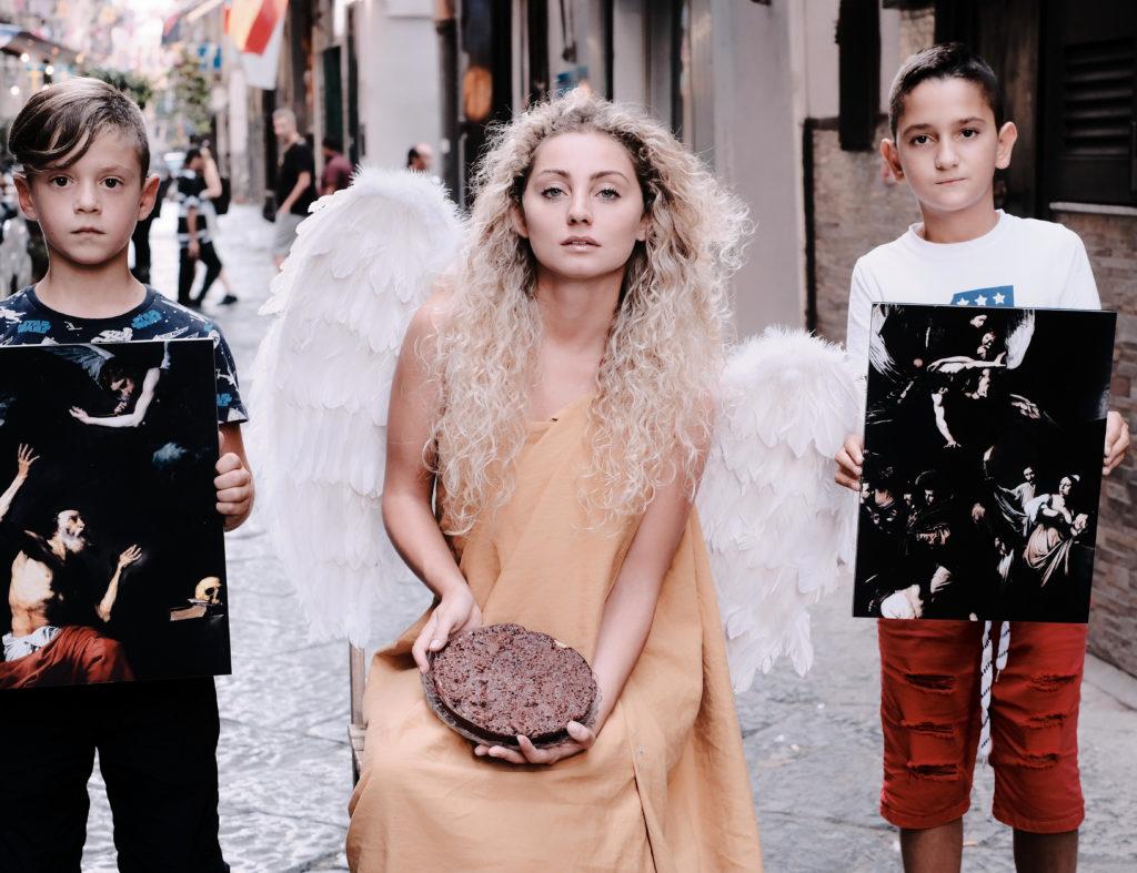L'Angelo presenta, nei quartieri Spagnoli di Napoli La pietra di S.Girolamo
