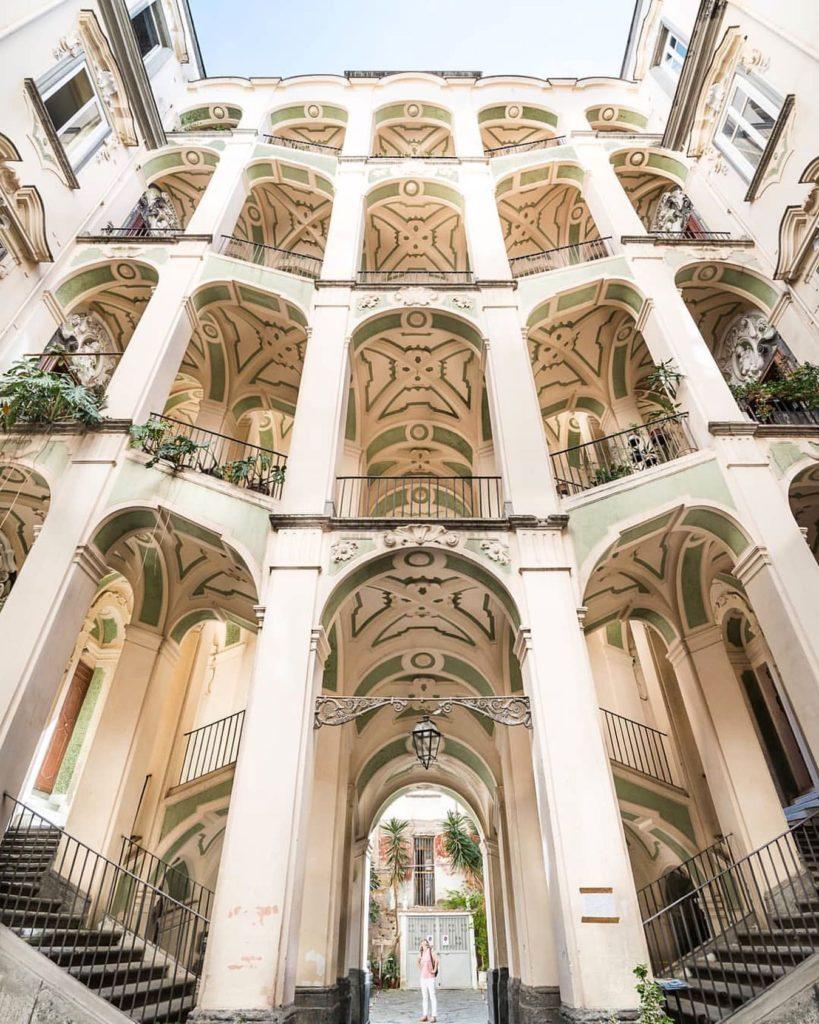 Visit Naples- Palazzo dello Spagnuolo e Palazzo Sanfelice a Napoli-3