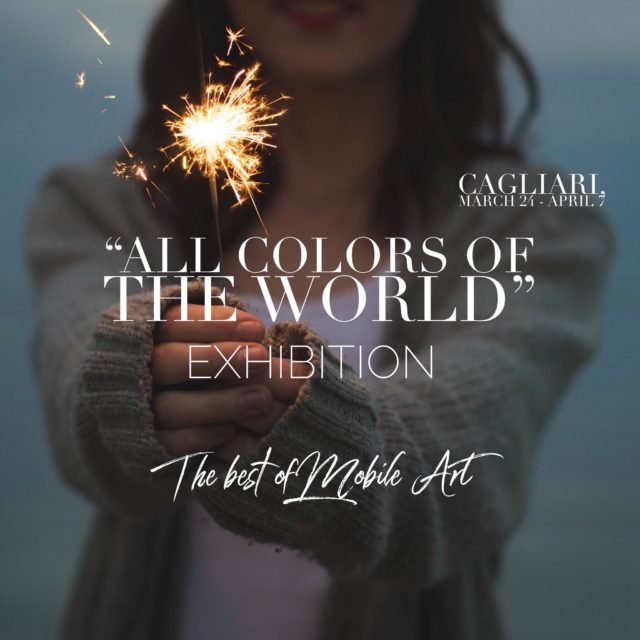 All color of the world - the best of the mobile art -Cagliari