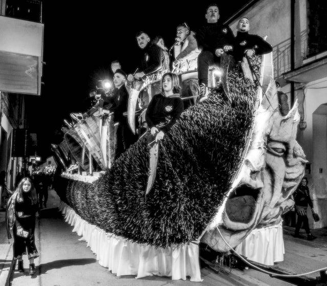 I Bottari a Macerata Campana per la festa di S.Antonio Abate una festa di suoni