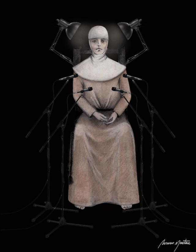 The Beggars' Theatre -Il teatro dei mendicanti -Interrogatorio a Maria -