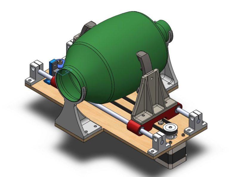 Prototipo di Ventilatore stampato in 3D grazie a un progetto open-source