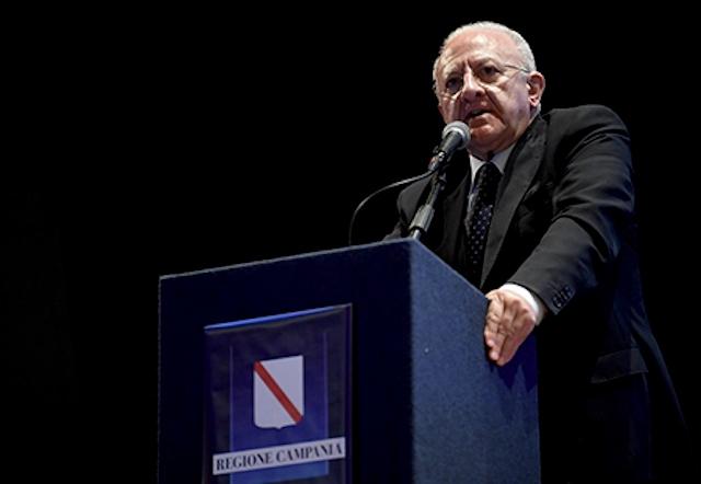 Piano economico Campania -vincenzo-de-luca