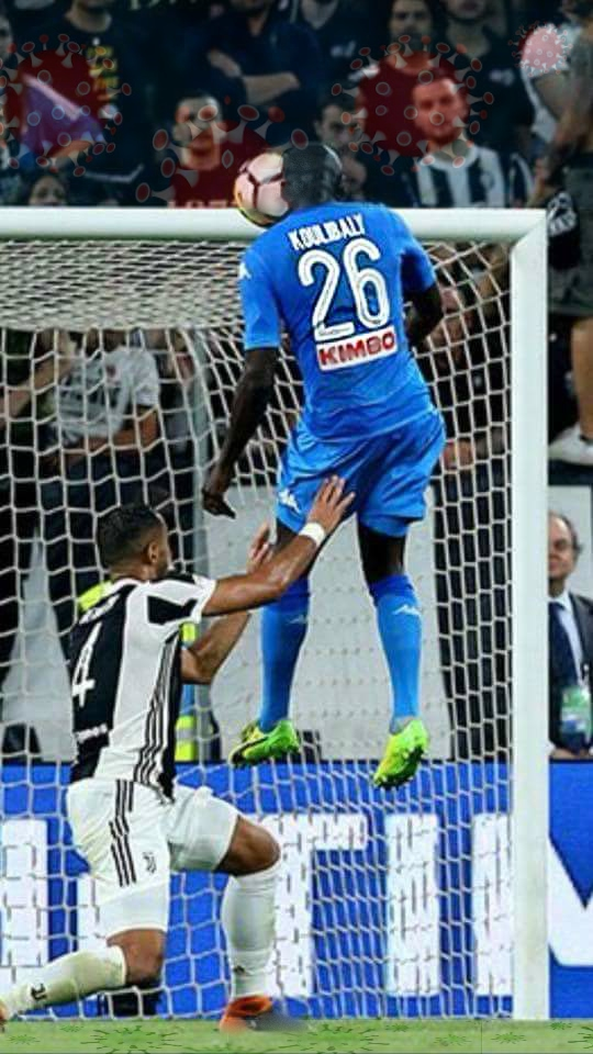 Virus del calcio - Koulibaly Juve Napoli 2018 -crono-news