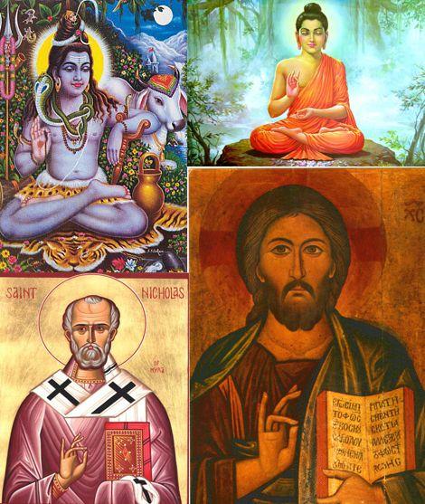 Yoga Mudra- Shiva, Buddha, Gesu. Uso delle mani durante la meditazione-2