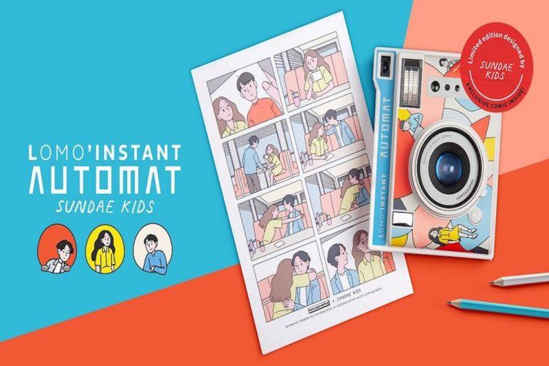 Lomo'Instant Automat Sundae Kids - www.crono.news